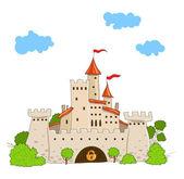 Fairytale castle — Stock Vector