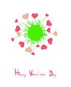 Card Valentine — Stock Vector