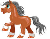 Little Pony — Stock Vector