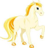 White horse — Stock Vector