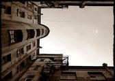 Sight at the sky — Stock Photo