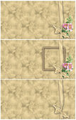 Vintage floral backgrounds — Stock Photo