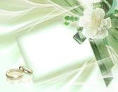 Fondo hermosa boda — Foto de Stock