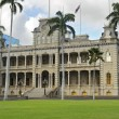 iolani palace — Stock Photo