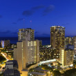Waikiki night - Stock Photo