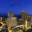 Waikiki night — Stock Photo