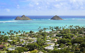 Mokoli'i Islands (Lanikai) — Stock Photo