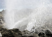 Makapuu blow hole — Stock Photo