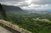 Pali Lookout, Hawaii — Stock Photo