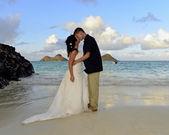 Lanikai wedding — Stock Photo