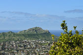 Diamond head, oahu — Stock Photo