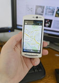Google maps — Stock Photo