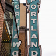 Portland sign — Stock Photo