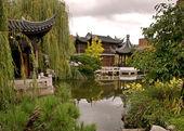 Lan Su Gardens — Stock Photo