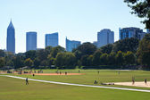 Piedmont park, Atlanta — Stock Photo