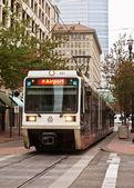 Portland streetcar — Stock Photo