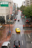 Rainy portland — Stock Photo