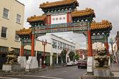 Portland chinatown — Stockfoto
