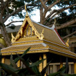 Golden thai pavilion — Stock Photo