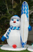 Frosty the Surfer — Stock Photo