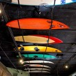 Surfboard Ceiling — Stock Photo