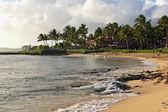 Poipu Beach Kauai Hawaii — Stock Photo