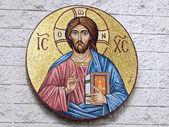 Griekse orthodoxe jesus — Stockfoto