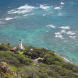 Diamond head lighthouse - Stock Photo