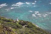 Diamond head lighthouse — Stock Photo
