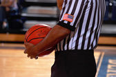 Basketball referree — Stock Photo