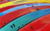 Ocean kayaks — Stock Photo