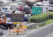 Expect traffic delays — Stock Photo