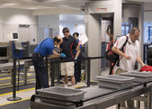 Airport security — Stock Photo