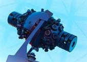 Planetarium star projector — Stock Photo