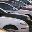 Used car lot — Stock Photo #39201599