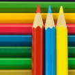 Colorful pencil crayon — Stock Photo