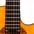 Spanish classic guitar — Stock Photo
