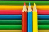 Colorful pencil crayon — Stock Photo