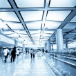 Passengers in the airport interior — Stock Photo #13260872