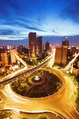 The city overpass in Shenzhen China — Stock Photo