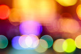 Abstract colorful defocused circular facula — Stock Photo