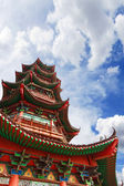 Chinese ancient building ,pagoda — Stockfoto