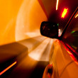 High-speed car in the tunnel, Motion Blur — Stock Photo #19270599