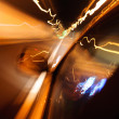 High-speed car in the tunnel, Motion Blur — Stock Photo #19271225