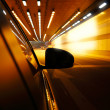 High-speed car in the tunnel, Motion Blur — Stock Photo #19271283