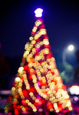 Slavnostní osvětlení. lze použít jako pozadí — Stock fotografie