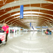Interior of modern architectural in shanghai airport. — Stock Photo #19456711