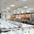 Motion chefs of a restaurant kitchen - Lizenzfreies Foto