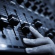 Sound mixer control panel — Stock Photo #23378620