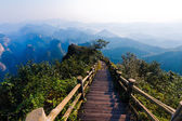Peak trail — Stock Photo